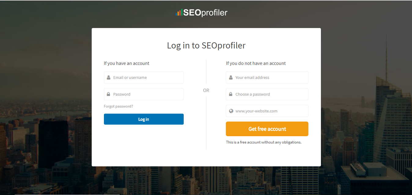 rregister SEOprofiler